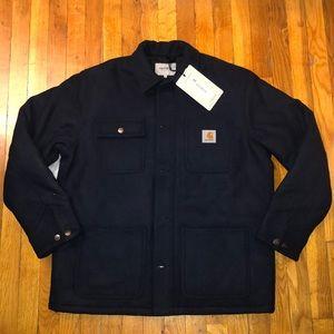 NWT Carhartt WIP Michigan Coat Dark Navy, L